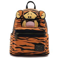 d9e8b6d751361 Loungefly Winnie the Pooh Tigger Faux Mohair Mini Backpack Standard Review  Backpack Outfit, Mini Backpack