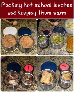 My kids eat better when I pack them hot school lunches. My simple trick to pack warm lunch and keep to food warm until lunch break.