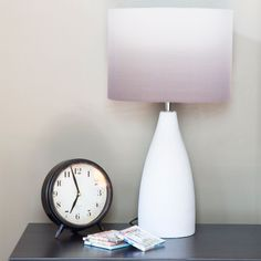 River of Goods Modern /White Ombre /Fabric 21.5-inch Table Lamp