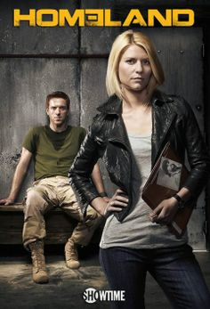'Homeland', filmed in Charlotte, NC - Season 1 Poster