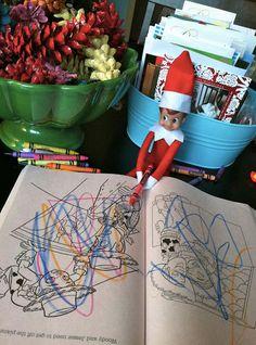 Tradition : la chasse au lutin de Noël faiseur de mauvais coup !
