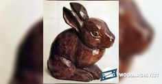 Bunny Carving - Wood Carving Patterns and Techniques | WoodArchivist.com