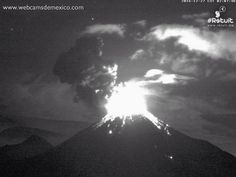 Red Alert At Bogoslof Volcano, 6 Explosions At Colima Volcano And Enhanced Volcanic Activity Around The World