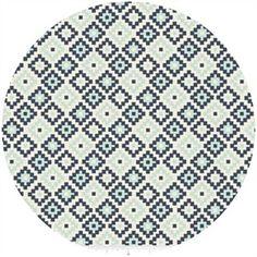 Design by Dani for Riley Blake, Woodland Spring, Geometric Navy