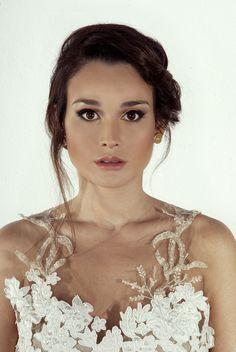 Actriz Lali Gonzalez en la Premier de la pelicula 7 cajas.  Maquillaje y peinado La Huarola  Fotografía: @Abdala Oviedo