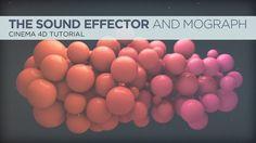 Cinema 4D Sound Effector Animation Tutorial