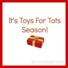 Part of I&I duty is Toys for Tots. Here's what it's really like: It's Toys For Tots Season!