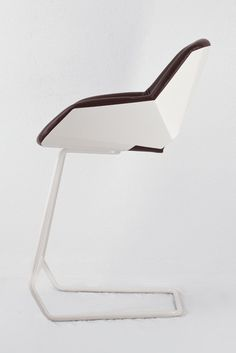 Lounge and Bar Chair Combined by Picard by Moritz von Helldorff Chair Design, Furniture Design, Contemporary Couches, Leather Chair With Ottoman, Designer Bar Stools, Moritz, Round Chair, Minimalist Furniture, Bar Chairs
