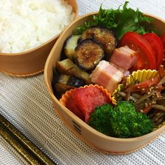 Stir-fried Bacons & Eggplants