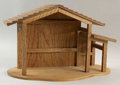 Wood plans nativity stable, how to build wood gun cabinet Christmas Crib Ideas, Christmas Manger, Christmas Train, Christmas Wood, A Christmas Story, Christmas Crafts, Christmas Decorations, Christmas Costumes, Nativity Stable