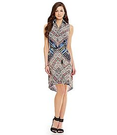 Antonio Melani Playing Favorites Katie Printed Belted Dress #Dillards