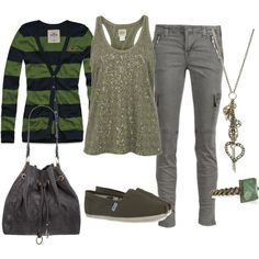 """green"" by sandreamarie on Polyvore"