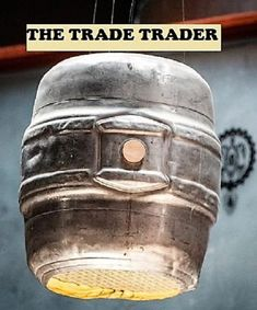 Beer Keg Ceiling Lighting by TheTradeTrader on Etsy