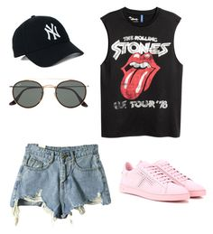 """""""Untitled #157"""" by sophraddd on Polyvore featuring Vans, Ray-Ban and Tod's"""