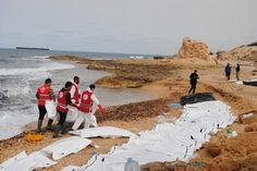 Bodies of 74 Migrants Wash Up on Libyan Coast The victims were believed to have come from a shipwrecked boat found along the shore, an ominous sign before the high season for crossings to Europe.