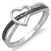 Found it at Wayfair Australia - 10K White Gold Round Cut Diamond Heart Promise Ring