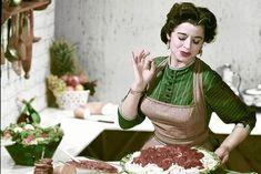 A typical Italian mamma!