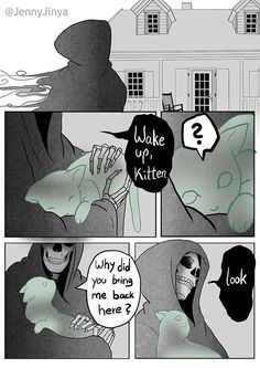 (6) Quora Black Cat Comics, Black And White Comics, Black Cats, Sad Dog Stories, Cute Stories, Off White Comic, Dog Loss Quotes, Happy Comics, Story Drawing