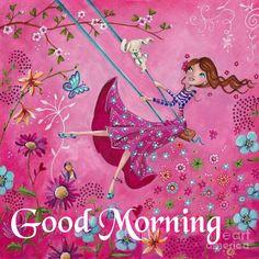 Illustration by Caroline Bonne Muller at Cartita Design Art And Illustration, Art Fantaisiste, Art Mignon, Painting Of Girl, Arte Popular, Whimsical Art, Beautiful Paintings, Pretty Pictures, Cute Art