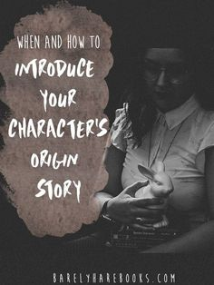 Reveal your character's origin story without burying your plot or losing readers. Plus find out how to craft a unique origin story for your character! Creative Writing Tips, Book Writing Tips, Writing Quotes, Writing Process, Fiction Writing, Writing Resources, Writing Help, Writing Skills, Writing Courses