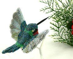 Бисерные птички от Meredith Dada. Комментарии : LiveInternet - Российский Сервис Онлайн-Дневников