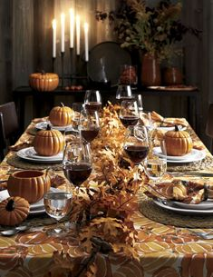 Make fall and Thanksgiving serving easy with dinnerware, serveware and table decor from Crate and Barrel. Diy Thanksgiving Centerpieces, Thanksgiving Table Settings, Thanksgiving Tablescapes, Holiday Tables, Thanksgiving Salad, Christmas Tables, Happy Thanksgiving, Thanksgiving Dinnerware, Halloween Centerpieces