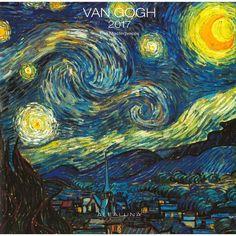 Image result for Van-Gogh-2017-Wall-Calendar