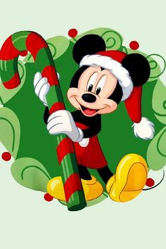 Mickey Mouse iPhone wallpaper Christmas