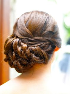 Braided side up do.