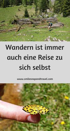 Wandern in Bayern und spirituelle Gedanken zur Selbstfindung.