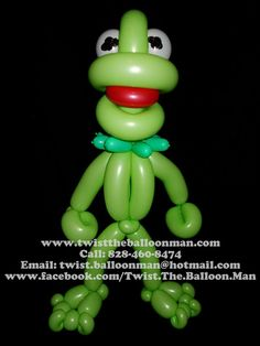 Kermit The Frog Muppets (Balloon)