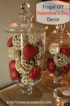 Cute Valentine's Day decorating idea
