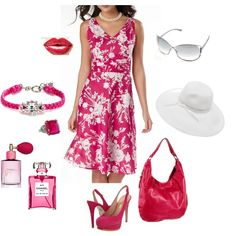 pretty in pink, created by tamijo01.polyvore.com