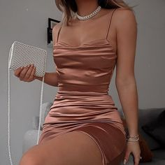 Cool outfit idea to copy ♥ For more inspiration join our group Amazing Things ♥ You might also like these related products: - Dresses ->. Homecoming Dresses Tight, Prom Outfits, Hoco Dresses, Mode Outfits, Pretty Dresses, Girl Outfits, Prom Party Dresses, Elegant Dresses, Dress Prom