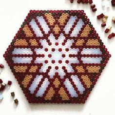 Mandala perler beads by  beautiful_mandalas