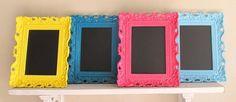 Chalk Board Frames