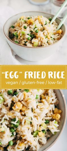 Vegan Egg Fried Rice (Gluten Free, Low Fat) 4