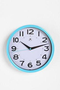 On Time Wall Clock.