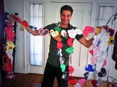 """Daniel Lissing with the many hearts from the """"Hearties"""" When Calls the Heart fans! Love Comes Softly, Jack Thornton, Daniel Lissing, Jack And Elizabeth, Erin Krakow, Hallmark Movies, Best Shows Ever, Embedded Image Permalink, Heart Shapes"""
