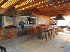 quinchos - Buscar con Google Bbq, Backyard, Outdoor Structures, Outdoors, House, Artworks, Food, Google, Gourmet