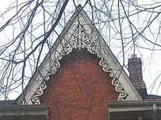 1000 images about gable decor on pinterest victorian for Roof peak decorations