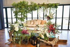 Maine, Ladder Decor, Display, Green, Flowers, Wedding, Furniture, Home Decor, Floor Space