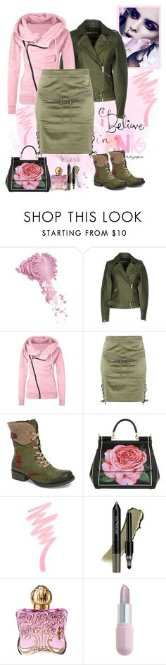 """Believe in Pink... :-)"" by marastyle ❤ liked on Polyvore featuring Bésame, Y.A.S, Moschino, Rieker, Dolce&Gabbana, Victoria's Secret, trèStiQue, Anna Sui and Winky Lux"