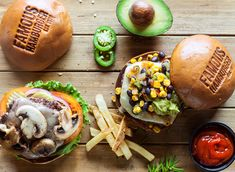 """Check out this @Behance project: """"Burgers"""" https://www.behance.net/gallery/62266317/Burgers"""