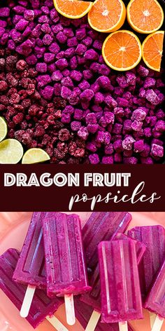 Dragon Fruit Popsicles You Need in Your Life 35 Dragon Fruit Pitaya, Fruit Popsicles, Snack Recipes, Dessert Recipes, Incredible Recipes, Recipe Mix, Gluten Free Treats, Recipe Inspiration, Gelato