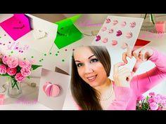 Как сделать открытку своими руками на День Святого Валентина ♥ ♥ ♥  DIY