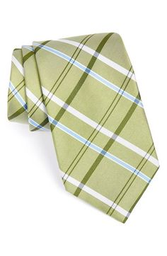 Men's Nordstrom Plaid Silk Tie