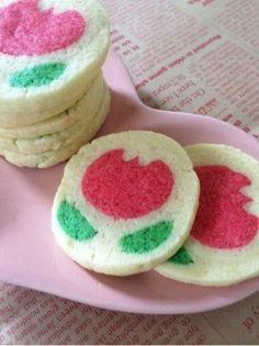 お花の可愛いアイスボックスクッキー by プクル [クックパッド] 簡単おいしいみんなのレシピが260万品