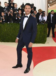 Jack Huston in Alexander McQueen and Christian Louboutin shoes