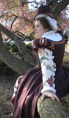 Love these Elizabethan sleeves!